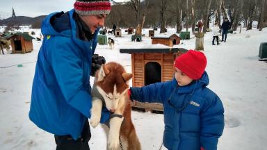 AUDIO: Siberianos de Fuego, experiencia en trineo tirado por perros