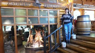 AUDIO: Probamos cordero al asador en Rincón Patagónico de Bariloche
