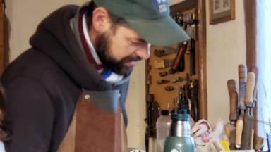 AUDIO: Diego Luque, el artesano salteño con proyección nacional