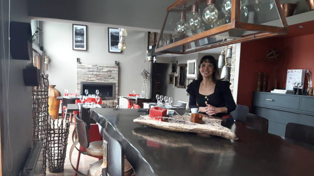 FOTO: Cocina patagónica gourmet a orillas del Nahuel Huapi