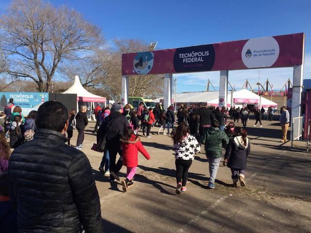 FOTO: Más de 100 mil personas visitaron Tecnópolis Federal