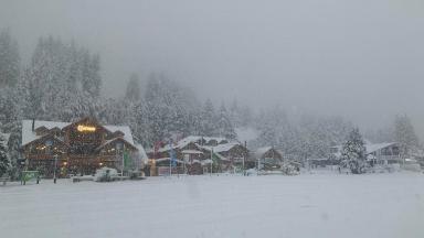 AUDIO: Bariloche se cubrió de blanco con la intensa nevada