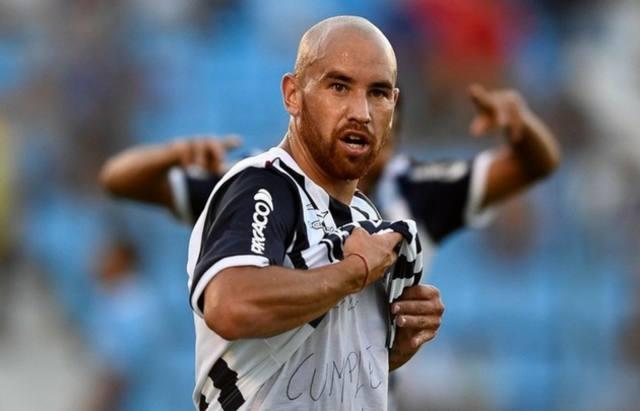 FOTO: Junior Arias, autor del gol de la victoria albiazul.