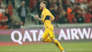 AUDIO: Gol de Boca (Alexis MacAllister)