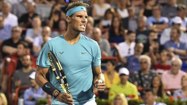 FOTO: Nadal sufrió, pero derrotó a Fognini y avanzó a semifinales