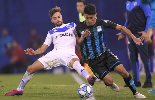 FOTO: Racing reaccionó y empató 2 a 2 con Vélez