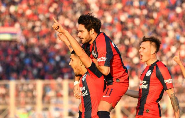 FOTO: Con un penal polémico, San Lorenzo le ganó a Godoy Cruz