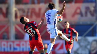 AUDIO: 1º gol de Godoy Cruz (Badaloni)