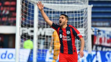 AUDIO: 3º gol de San Lorenzo (Blandi)