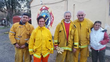 AUDIO: Lucha contra el fuego, dos historias de entrega y servicio