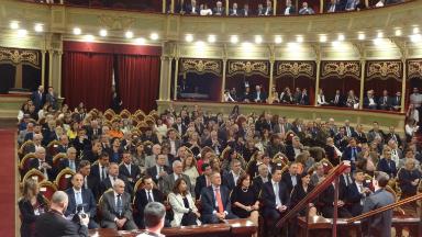 AUDIO: Proclamaron a las autoridades electas de la Provincia