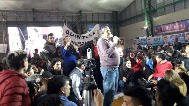 AUDIO: Incidentes en un acto de candidatos a diputados de La Rioja