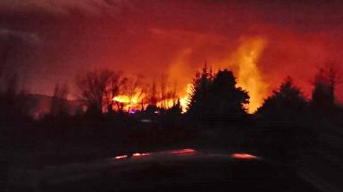 AUDIO: Consecuencias del incendio en Potrerillos