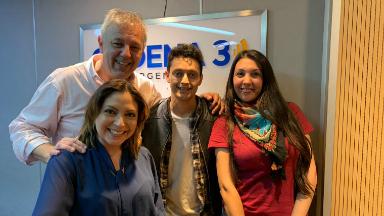 AUDIO: Lucho Arrieta cantó su nuevo tema en Una mañana para todos