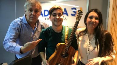 AUDIO: Joaquín Martín, una promesa para la música melódica