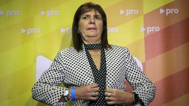 AUDIO: Bullrich denunció cortes de fibra óptica antes de las PASO