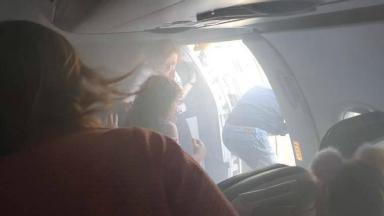 AUDIO: Susto por aterrizaje de emergencia en Aeropuerto de Valencia