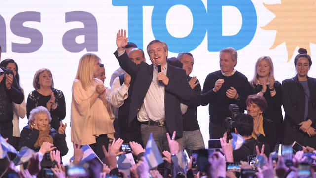 FOTO: Amplio triunfo de Alberto Fernández sobre Macri