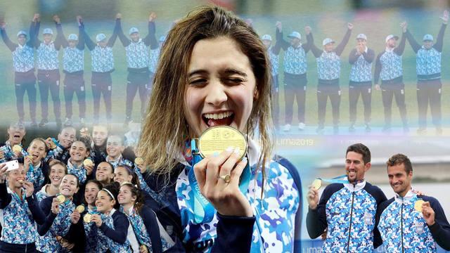 FOTO: Argentina cerró su participación en Lima con 101 medallas