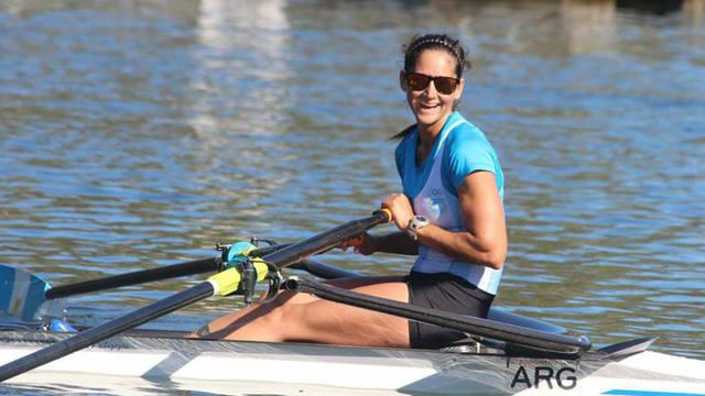 FOTO: Milka Kraljev se quedó con la medalla de plata en remo