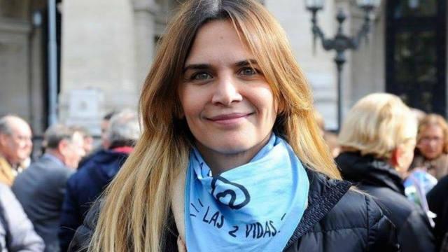 FOTO: Amalia Granata ironizó con el quiebre en Actrices Argentinas