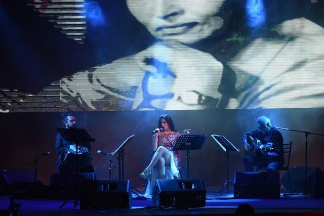 FOTO: Ana Fontán en el Festival de Tango