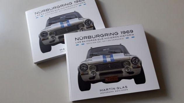 FOTO: El libro de Martín Glas que cuenta la historia del Torino en Nürburgring