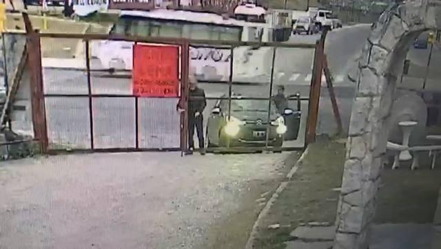 FOTO: Video: así le robaron el auto al dueño de un corralón
