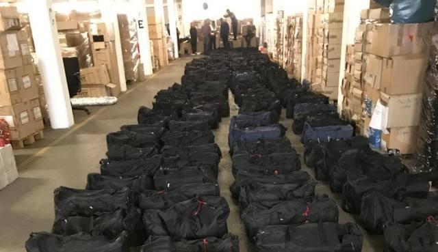FOTO: Alemania incautó 4,5 toneladas de cocaína de Uruguay