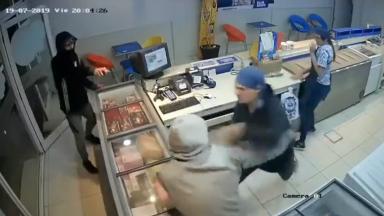 AUDIO: Video: un heladero echó a las trompadas a delincuentes