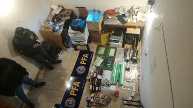 AUDIO: La Casa de Papel: desbaratan banda que falsificaba billetes