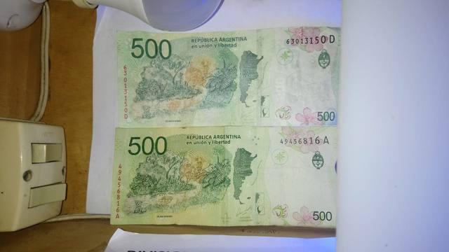 FOTO: La Casa de Papel: desbaratan banda que falsificaba billetes