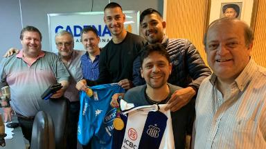 AUDIO: Medina, Novillo y Gaich, oro en fútbol con