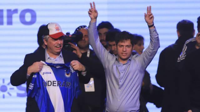 FOTO: Kicillof superará el 52% contra un 34,6% de Vidal
