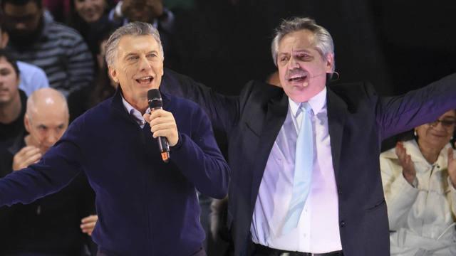 FOTO: Macri y Fernández se culpan por la reacción de los mercados.