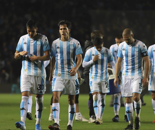 FOTO: Marcelo Díaz pidió disculpas por la derrota de Racing