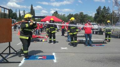 AUDIO: ás de 200 bomberos participan de olimpíadas provinciales