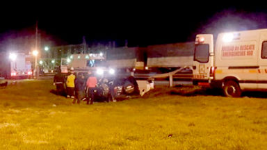AUDIO: Choque fatal en General Levalle dejó un muerto
