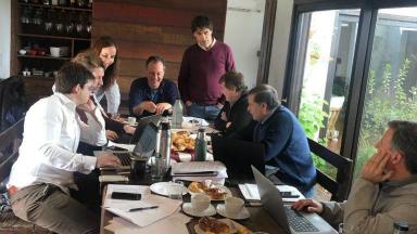 AUDIO: Lacunza se reunió con su equipo económico este domingo