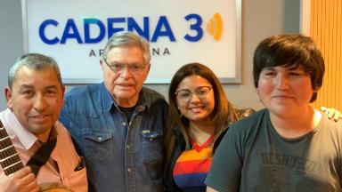 AUDIO: Giselle Aldeco llevó su impronta cuyana a Viva la Radio