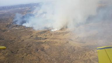 AUDIO: Combaten los incendios en Altas Cumbres