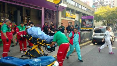 AUDIO: Incendio en la línea E de subte: 27 personas asistidas