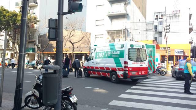 FOTO: Incendio en la línea E de subte: 27 personas asistidas