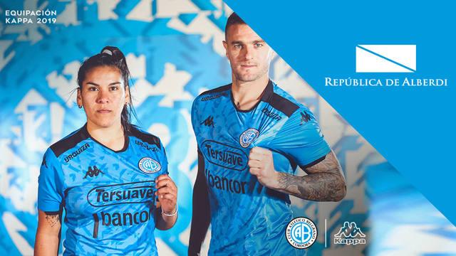 FOTO: Belgrano presentó su nueva camiseta Kappa
