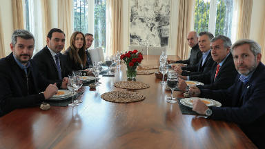 AUDIO: Macri compartió un almuerzo con gobernadores del oficialismo