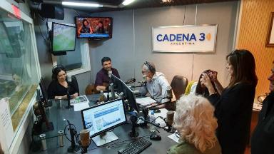 AUDIO: Emiliano y Silvia Zerbini celebraron su día en la radio