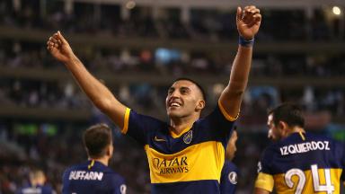 AUDIO: 3º Gol de Boca (Caicedo e/c)