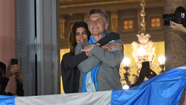 FOTO: Macri, desde Casa Rosada: