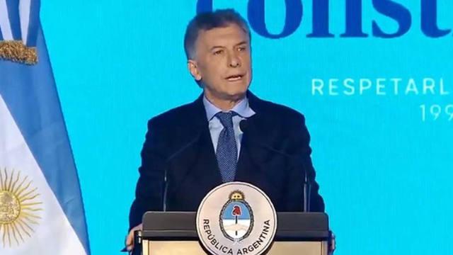 Política: Macri pidió