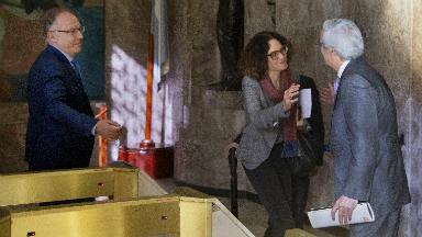 AUDIO: Lacunza se reunió con el equipo de Alberto Fernández